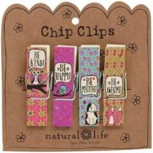 Natural life chip clips